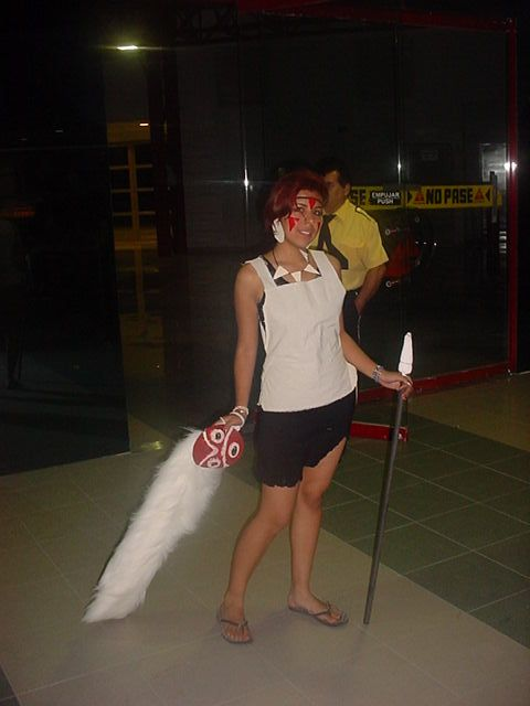 san princess mononoke cosplay. Series: Princess Mononoke