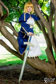 Saber from Fate/Stay Night worn by Zip
