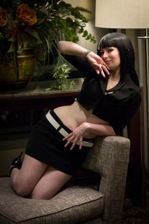 Chiyuki from Death Parade worn by feytaline