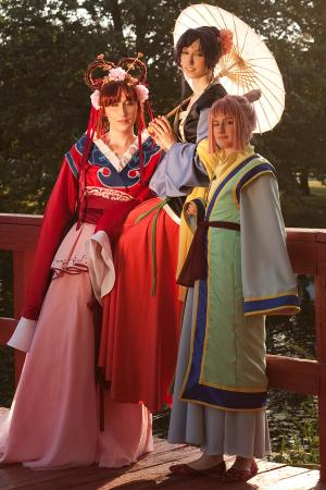 Nuriko from Fushigi Yuugi worn by breathlessaire