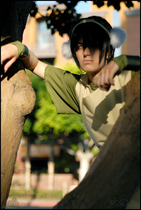 Toph Bei Fong from Avatar: The