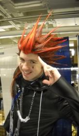 Axel from Kingdom Hearts 2 worn by Zaxel