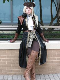 Lady Maria of the Astral Clocktower from Bloodborne worn by Vanessa