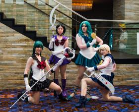 Sailor Pluto from Sailor Moon S worn by Sailor Anime