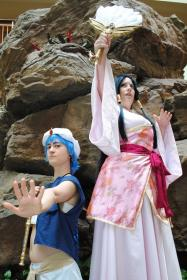 Ren Hakuei from Magi Labyrinth of Magic worn by JadeKat