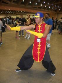 Yun from Street Fighter III worn by Shiny