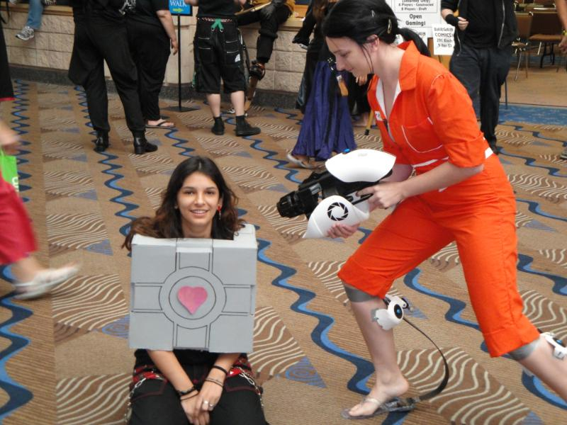 portal 2 chell cosplay. out Portal+chell+cosplay