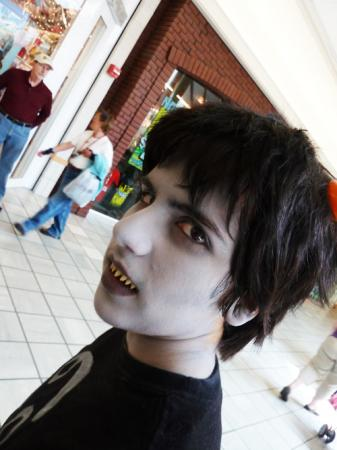 Karkat Vantas from MS Paint Adventures / Homestuck worn by Gideon Ephraim