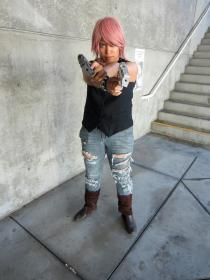 Lightning from Final Fantasy XIII worn by Shadow-Fang