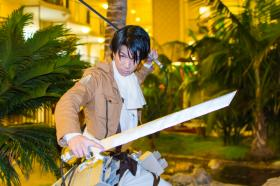 Levi from Attack on Titan worn by Rin Dunois