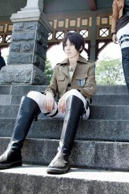 Eren Yeager from Attack on Titan worn by krhaku