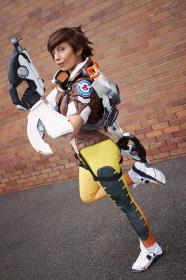 Tracer from Overwatch worn by smzeldarules