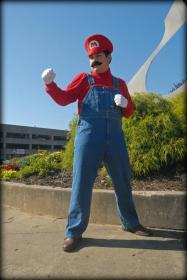 Mario from Super Mario Brothers Series worn by BlackStarLee