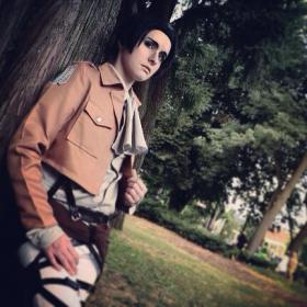 Levi from Attack on Titan worn by RikkuGrape