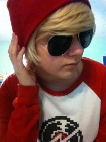 Dave Strider from MS Paint Adventures / Homestuck worn by Michael-Theo Knights