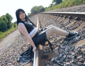 Tifa Lockhart from Final Fantasy VII: Advent Children worn by Scarlet Heart Cosplay