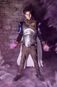 Silver Fullbuster from Fairy Tail worn by Zac Myatt