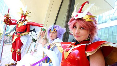 Magic Knight Rayearth photographed by