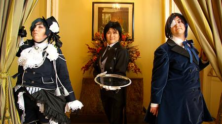 Black Butler photographed by