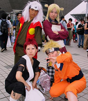 Comiket Summer 2005 photographed by