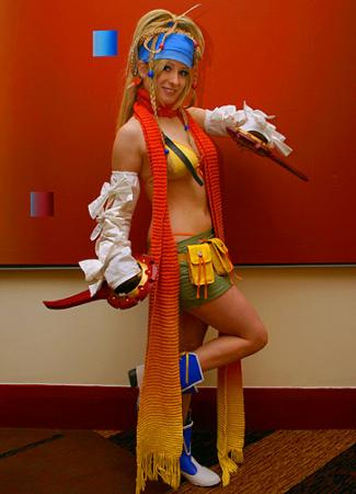 Final Fantasy X-2 photographed by
