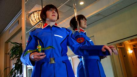Mobile Suit Gundam Seed photographed by