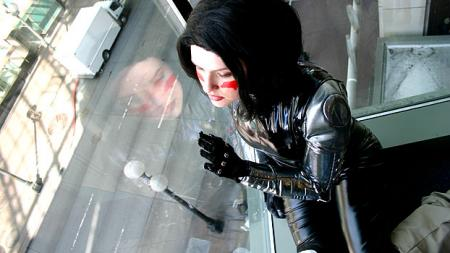 Battle Angel Alita photographed by