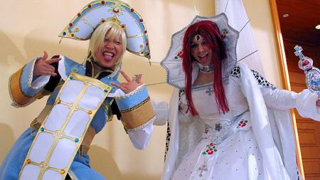 Trinity Blood photographed by