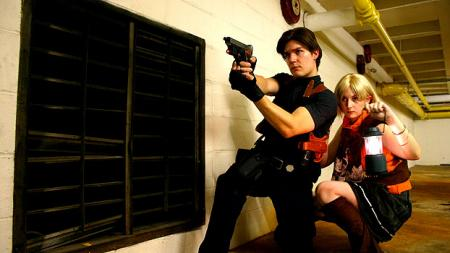 Resident Evil 4 photographed by
