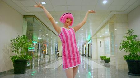 Lazy Town photographed by