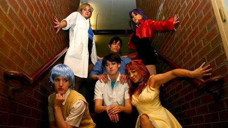 Neon Genesis Evangelion photographed by