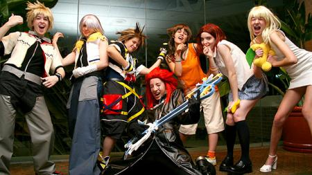 Kingdom Hearts 2 photographed by
