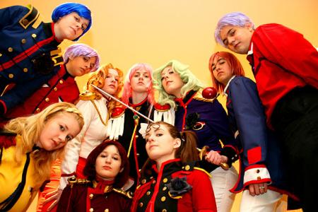 Revolutionary Girl Utena photographed by