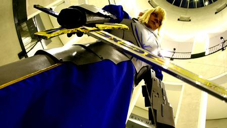 Fate/Stay Night photographed by