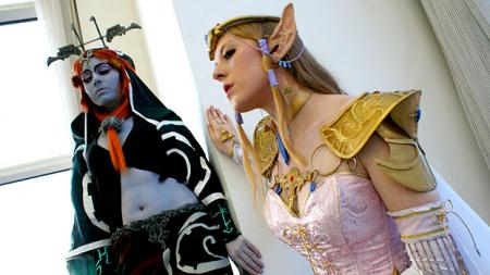 Legend of Zelda: Twilight Princess photographed by
