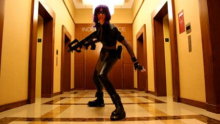 Ghost in the Shell photographed by