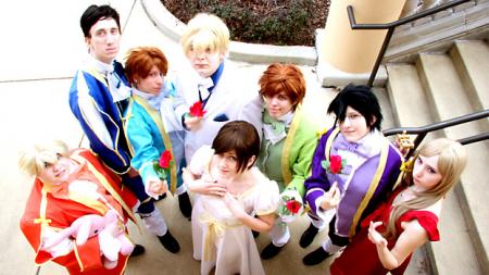 Ouran High School Host Club photographed by