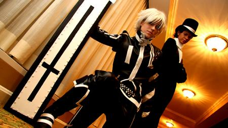 D. Gray-Man photographed by