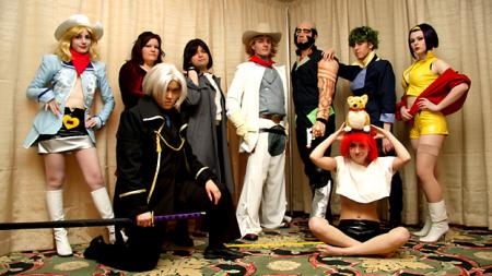 Cowboy Bebop photographed by