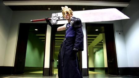 Final Fantasy VII: Advent Children photographed by