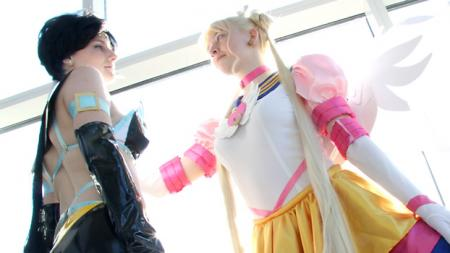 Sailor Moon Sailor Stars photographed by