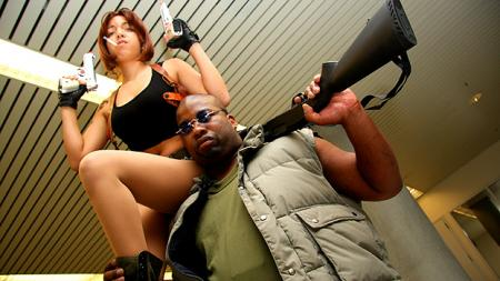 Black Lagoon photographed by