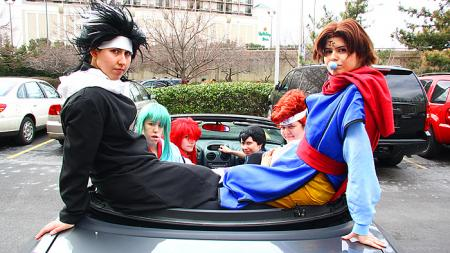 Yu Yu Hakusho photographed by