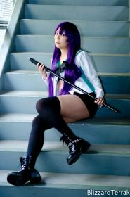 Highschool of the Dead photographed by