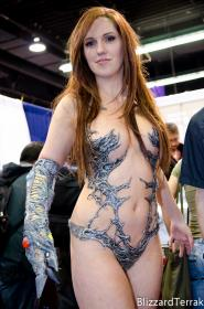 Witchblade photographed by