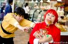 Ranma 1/2 photographed by