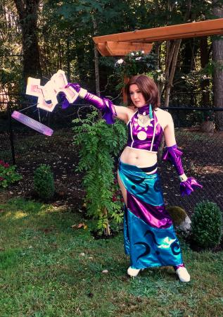 Yuna from Final Fantasy X-2 worn by CelestialShadow19