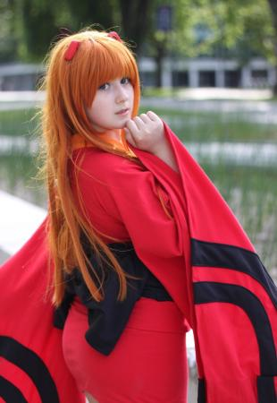 Asuka Langley Sohryu from Neon Genesis Evangelion worn by MahouMelon
