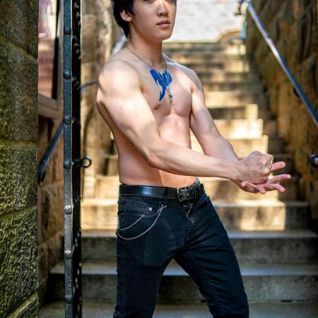Gray Fullbuster from Fairy Tail worn by Val Pyon