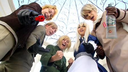 Axis Powers Hetalia photographed by